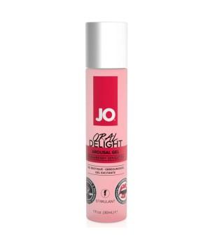 Возбуждающий гель Oral Delight Strawberry Sensation System JO 30 мл.