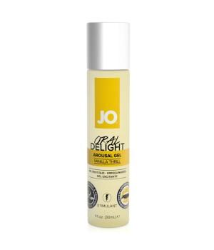 Возбуждающий гель Oral Delight Vanilla Thrill System JO 30 мл.